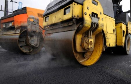 road paving file photo