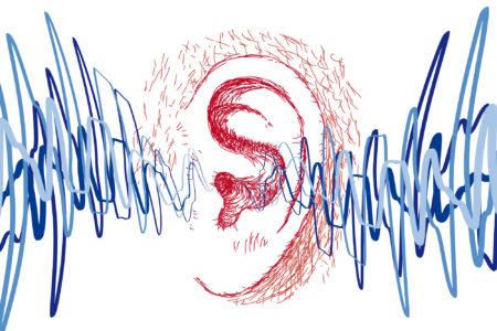 Sound waves illustration