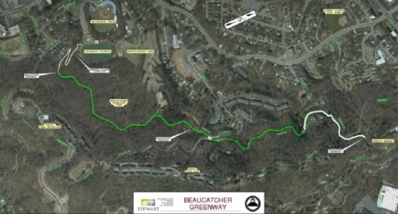 beaucatcher greenway map