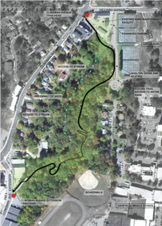 bacoate branch greenway map